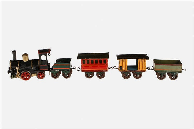 Märklin 5-teiliger S 0-Uralt-Zug