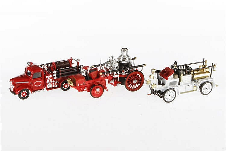 3 Delprado Feuerwehr Modelle