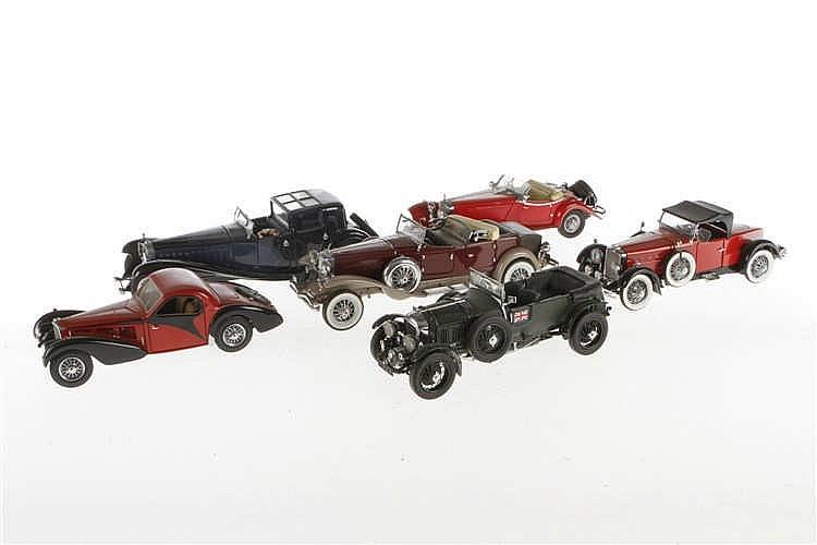 6 versch. Oldtimer Modelle