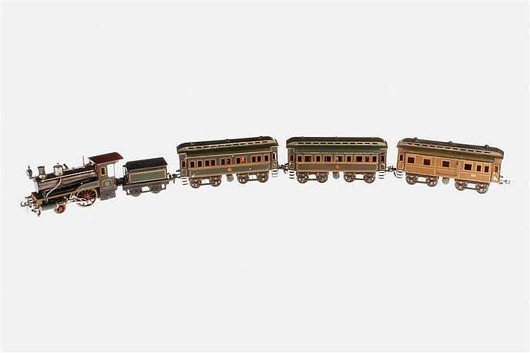 5-teiliger Carette Uralt-Zug