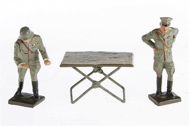 2 L Soldaten und Kartentisch