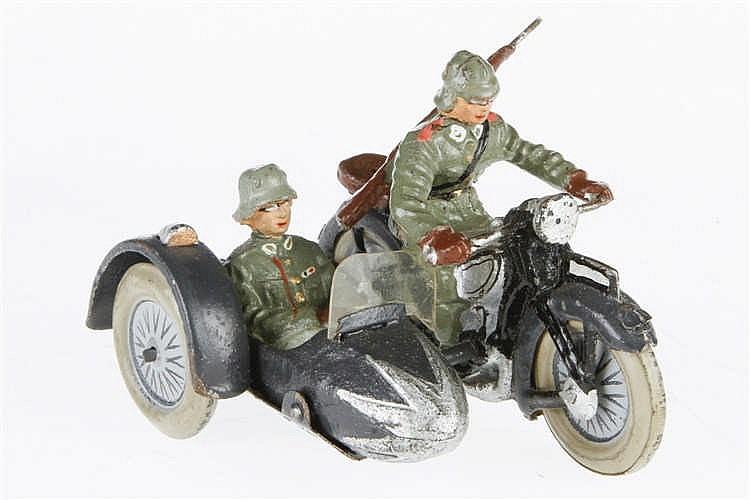 E/L Motorrad mit Beiwagen