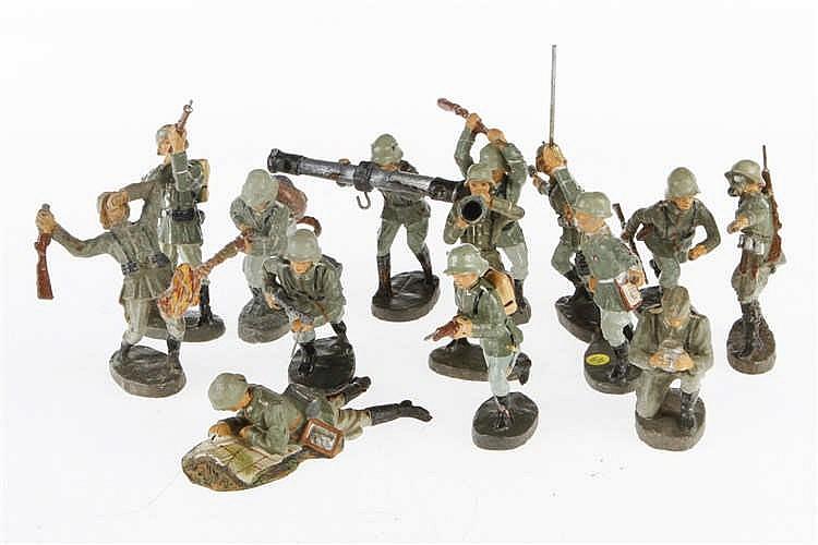 Konv. mit versch. E Soldaten
