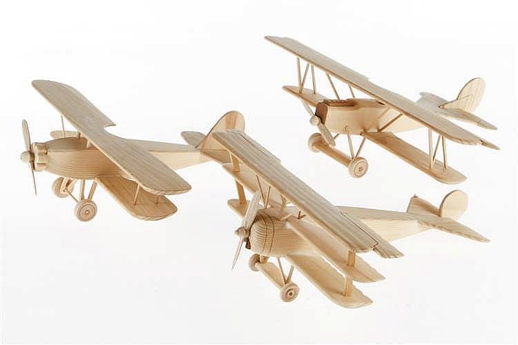 3 Flugzeugmodelle