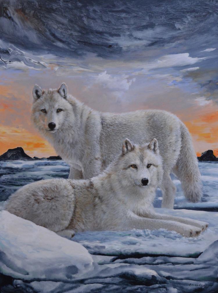 Fernandez, Amneris (1950- ) Deux loups