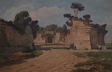Huot, Charles Édouard Masson (1855-1930) Brouage (1912)