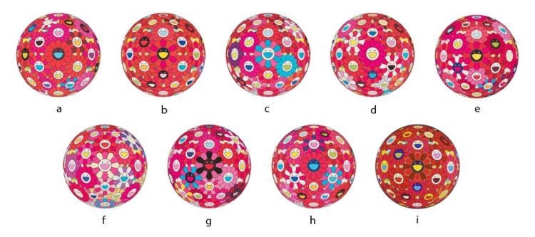 Takashi Murakami Flowerball (3D) Collection
