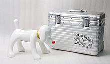 Doggy Radio plus Rimowa Suitcase