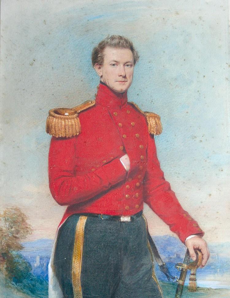 SAMUEL BERRY GODBOLD (Fl.1842-1875) PORTRAIT OF A