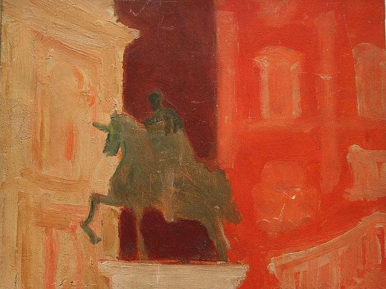 CARLO QUAGLIA (1903-1970) ROME CAMPIDOGLIO