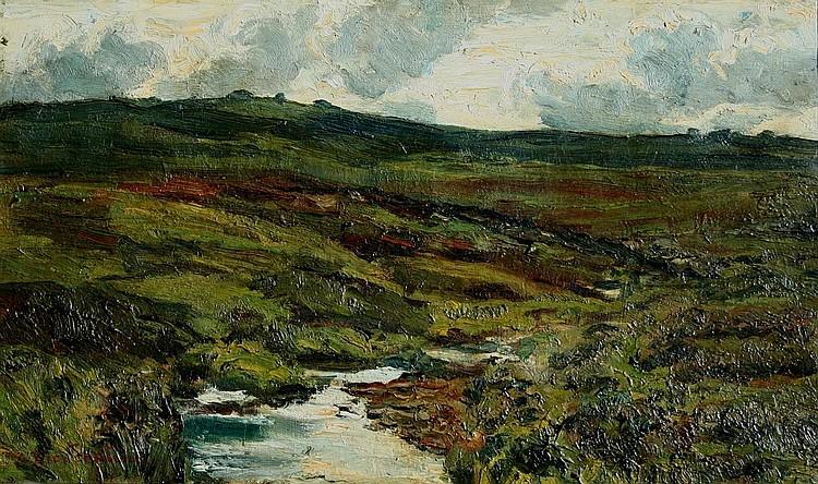CARL AUGUSTUS BREITENSTEIN (1864-1921) MOORLAND