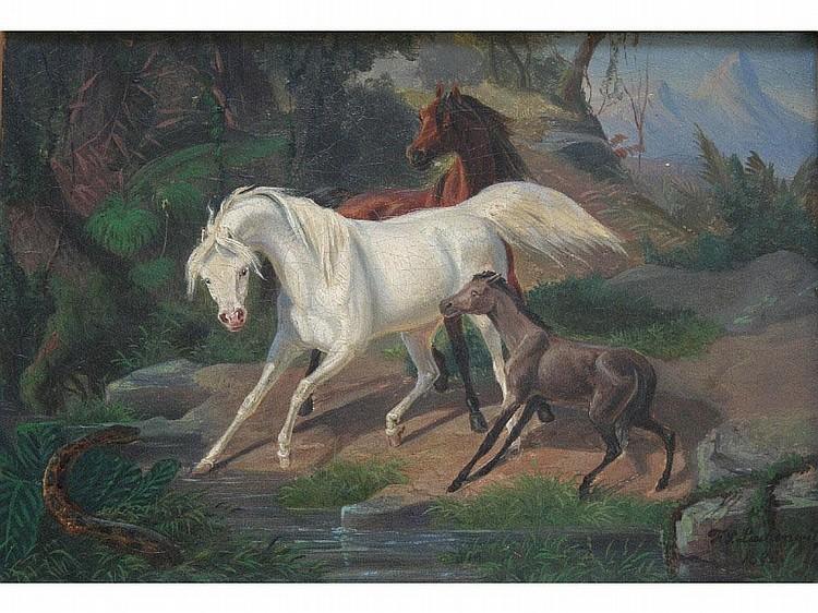 F. SIGMUND LACHENWITZ (1820-1868) Some craquelure;