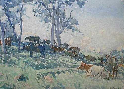 ARTHUR HENRY KNIGHTON-HAMMOND (1875-1970) CATTLE
