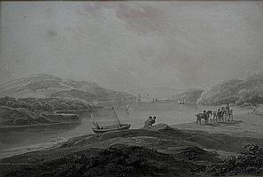 CIRCLE OF THOMAS SUNDERLAND (1744-1828) ON THE