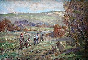ERNEST HERMAN EHLERS (1858-1943) FIELD WORKERS