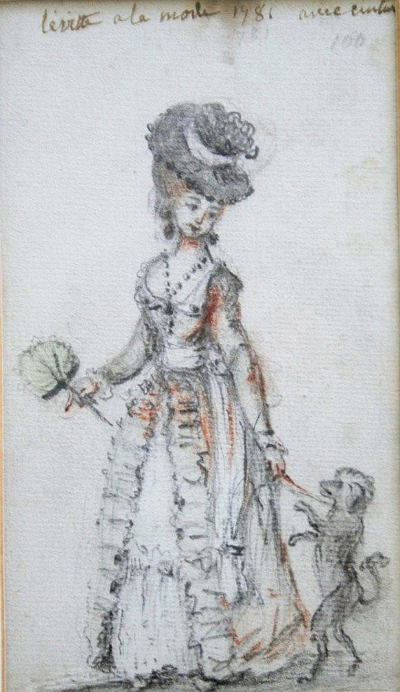 A GROUP OF FIVE OLD MASTER DRAWINGS to comprise
