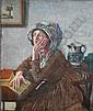 ERNEST H. EHLERS (1858-1943) CONTEMPLATION Signed,