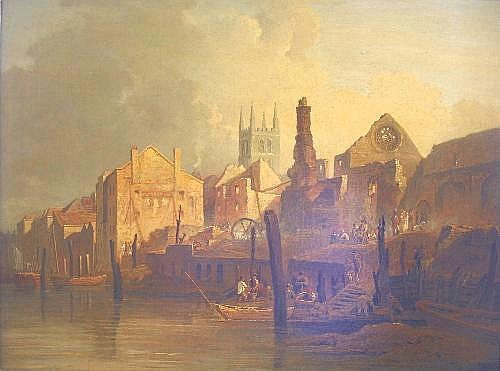 THOMAS LOUND (1802-1861) THE RUINS OF THE
