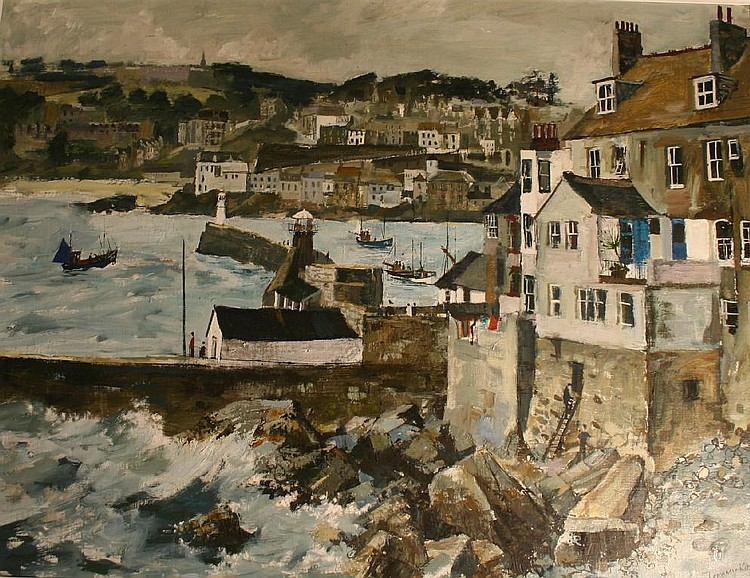 JEREMY KING (b.1933) ST. IVES, CORNWALL Signed and