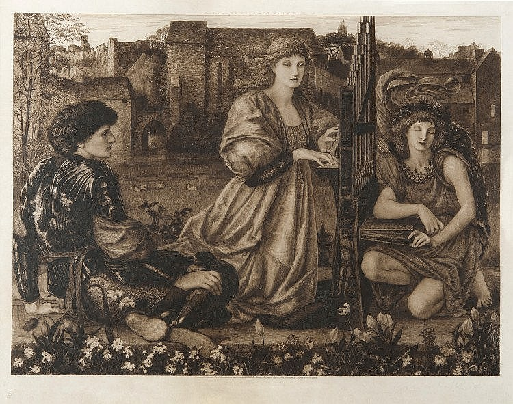 AFTER SIR EDWARD COLEY BURNE-JONES, Bt., ARA
