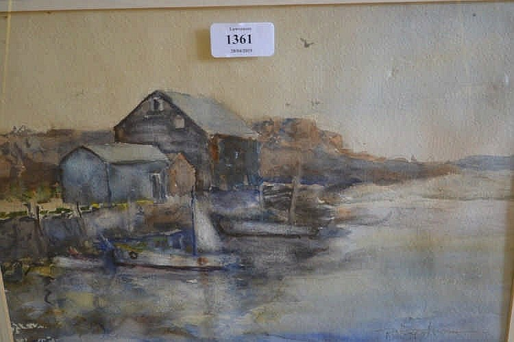 Ruth c hagstrom works on sale at auction biography for Lawrence fish house
