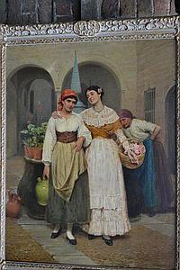 John Bagnold Burgess (1830-1897), oil on canvas