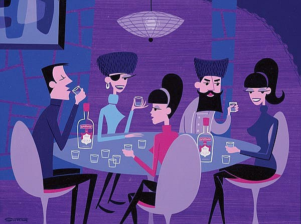 JOSH AGLE (aka. SHAG) born 1962, American The