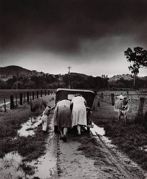 JEFF CARTER (1928-2010) Tobacco Road, Ovens Valley