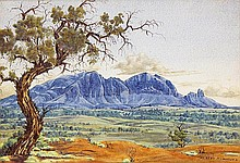 ALBERT NAMATJIRA (1902-1959) (Mount Sonder)