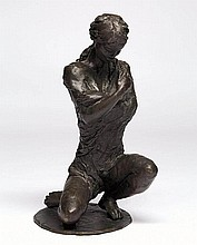 LENORE BOYD born 1953 Grace bronze signed and
