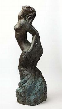 LENORE BOYD, born 1953, Phoenix, bronze signed to: