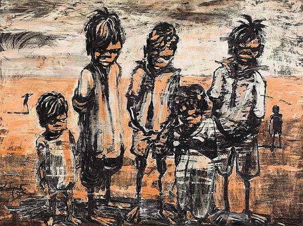 ELIZABETH DURACK (1915-2000) Children (Eastern