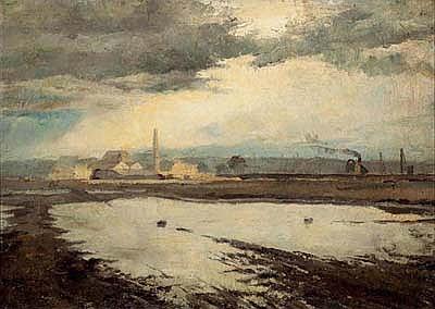 FREDERICK McCUBBIN (1855-1917) Dudley Flats, West