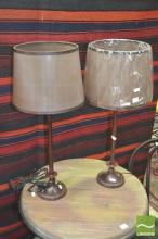 Pair of Table Lamps (5561brn)
