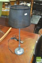 Brass Table Lamp in Grey (5604gry)
