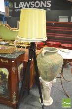 Standard Lamp, on tripod base