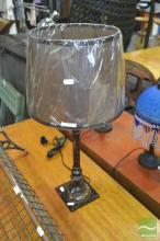 Brass Table Lamp (brown-1)