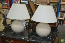 Pair of Italian Table Lamps (2837be)