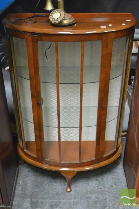 Half Moon Display Cabinet