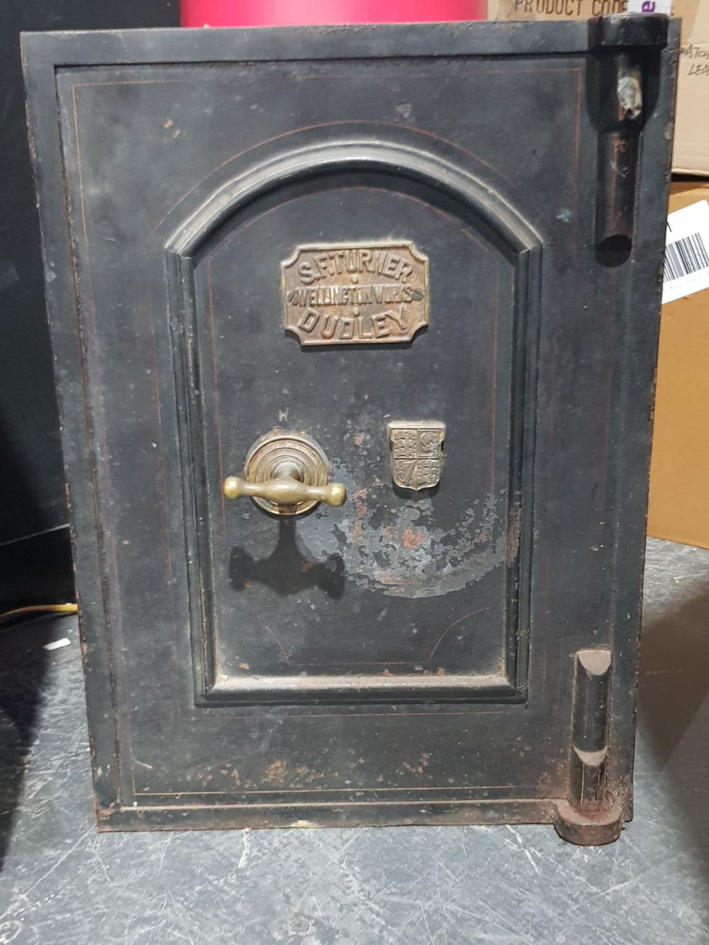 Small Victorian Safe SF Turner (key in office)