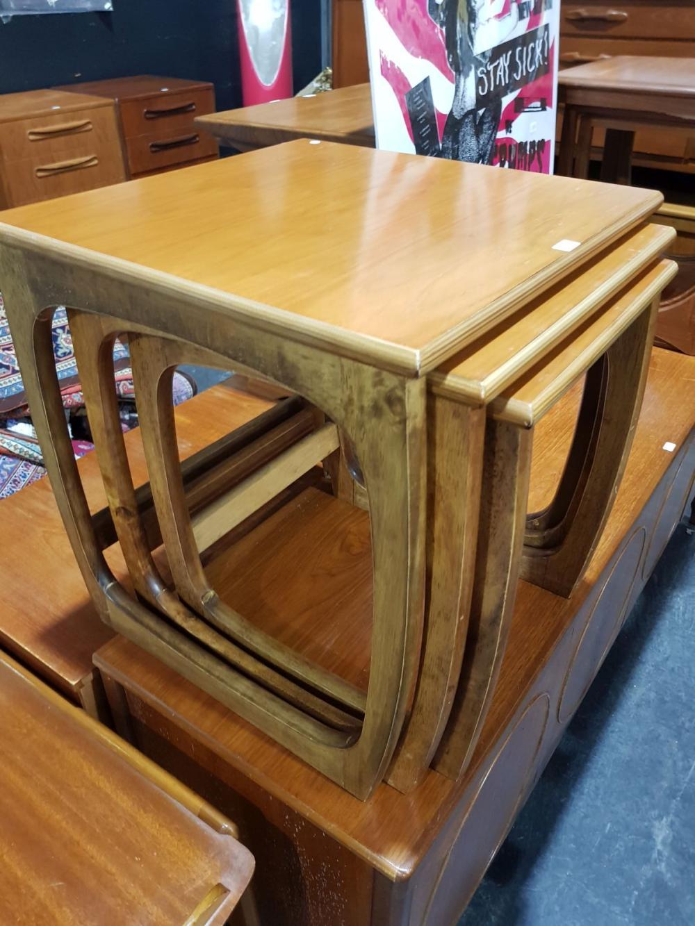 1960s Teak Nest of Tables