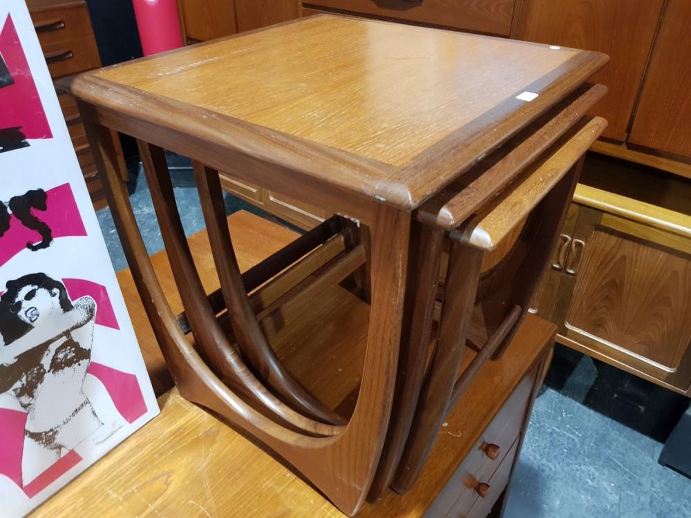 G Plan Teak Nest of Tables