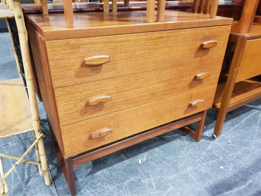 G-Plan E. Gomme Chest of Three Drawers