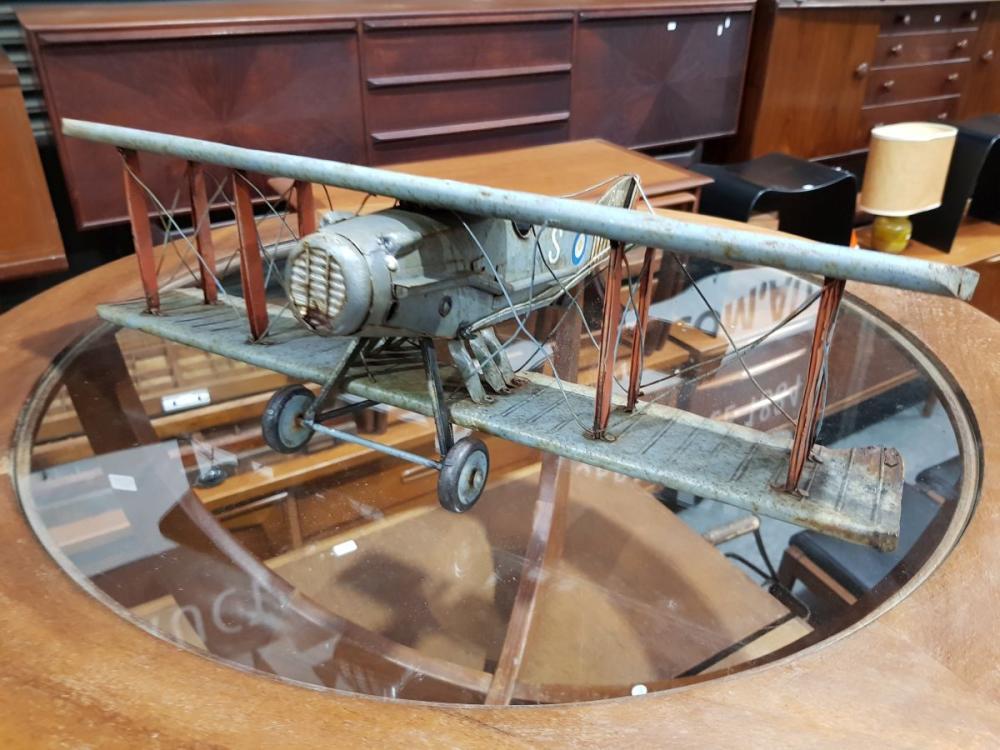 Vintage Boyle Tin Plane