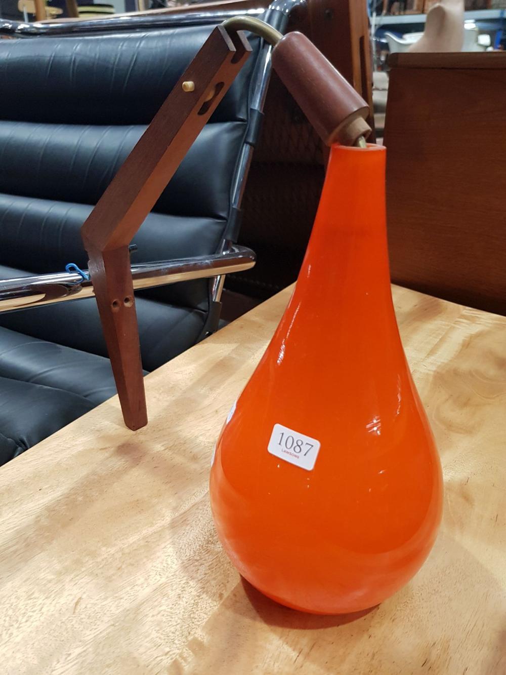 Holmgaard Glass hanging Light Fitting