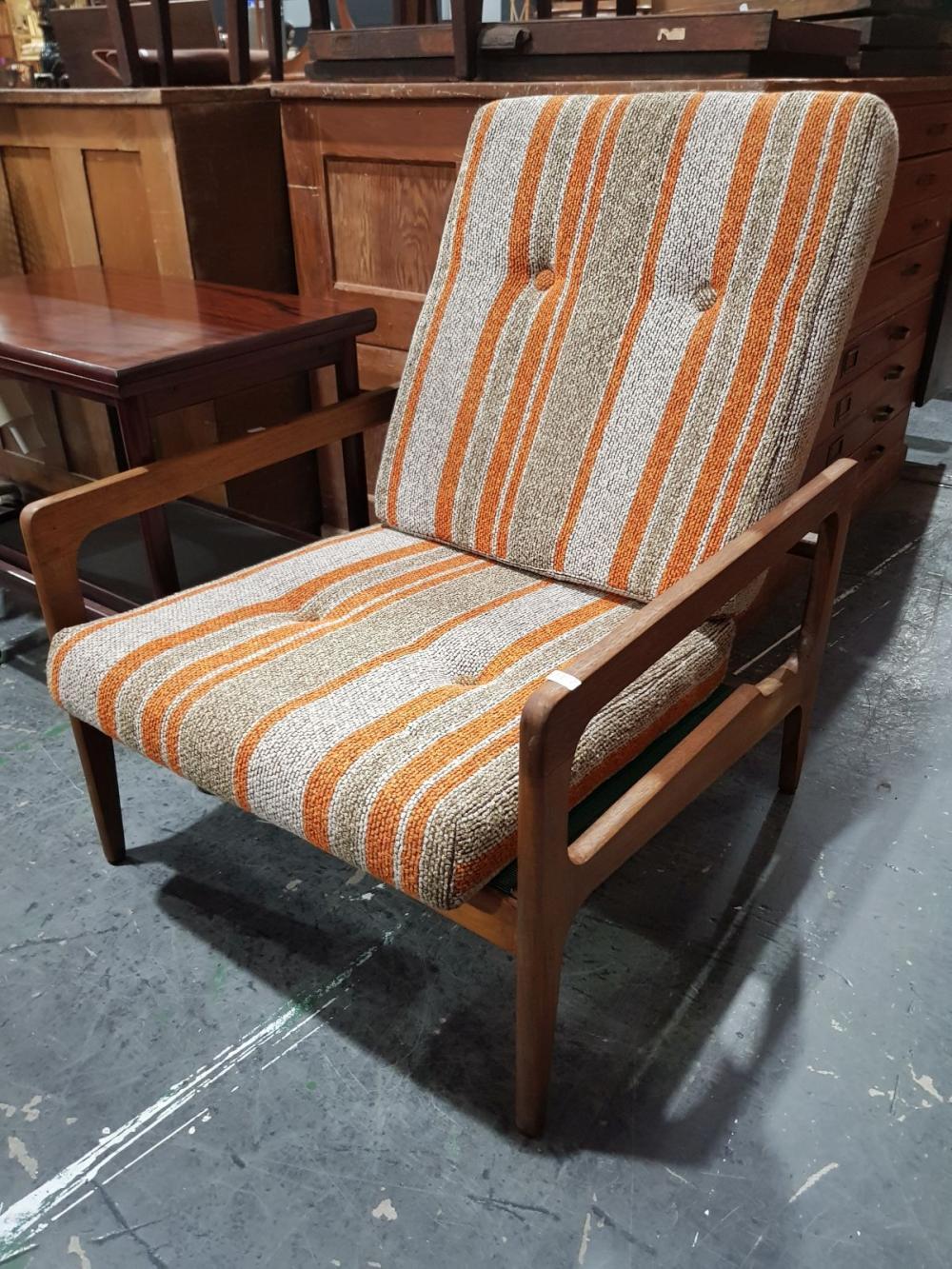 Vintage Australian Upholstered Armchair