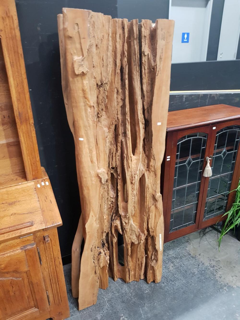Natural Finish Timber Panel