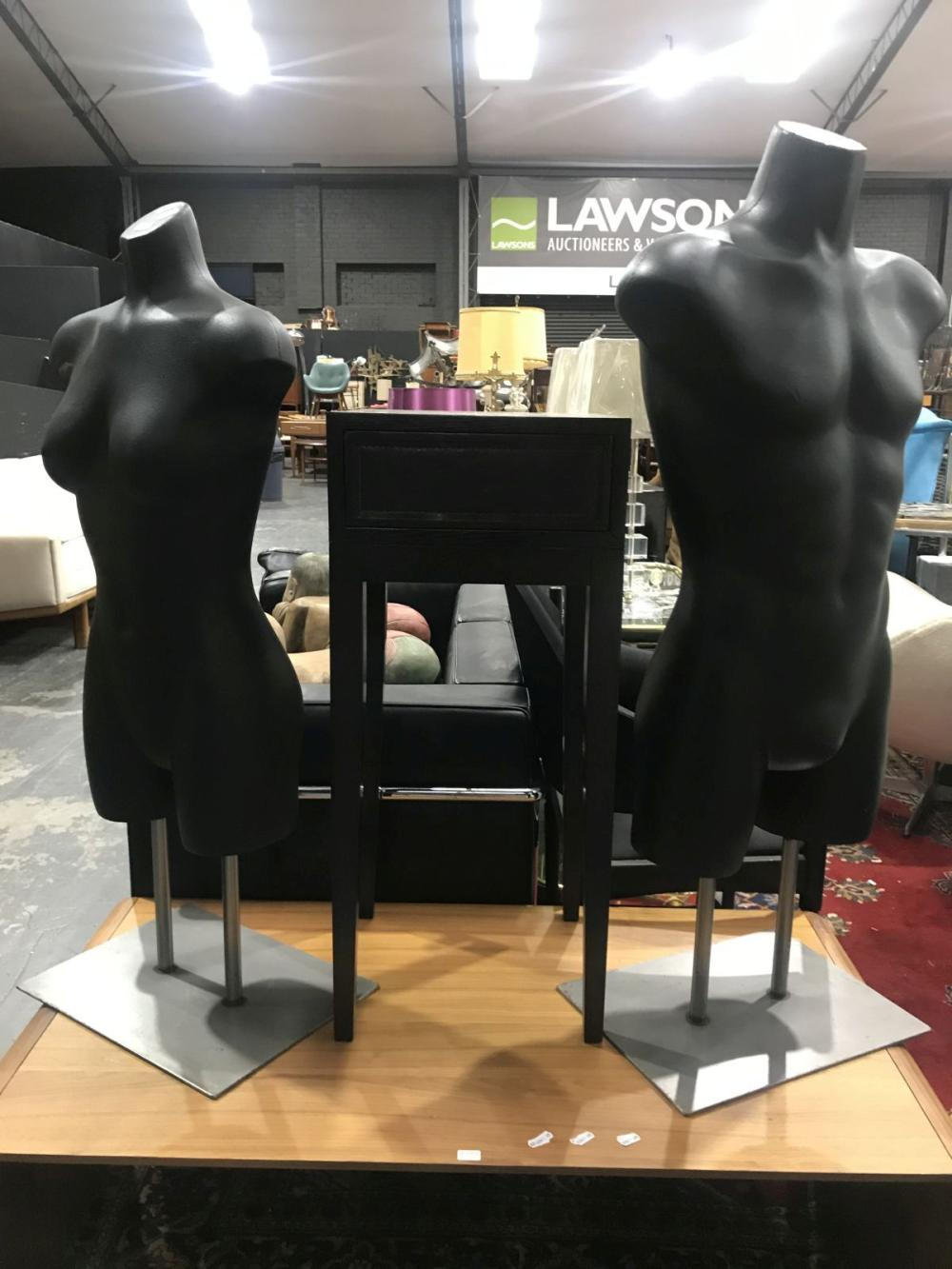 Male & Female Torso Mannequins (2)
