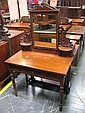 Late 19th Century Cedar Dressing Table fitted with Single Drawer