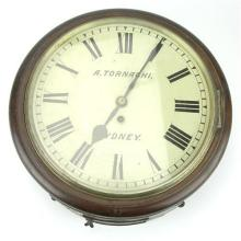 Angelo Tornaghi Wall Clock from Typewriter Repair Branch